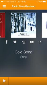 App Radio Casa Bastiano iOS 4