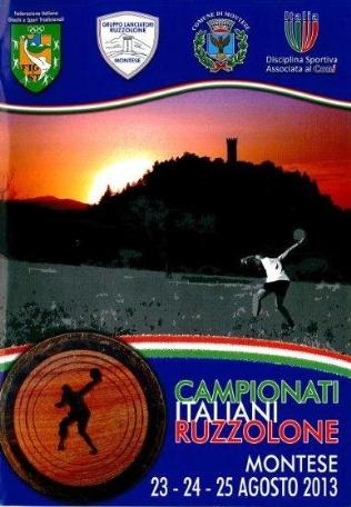 Campionati italiani ruzzolone 2013