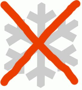 no neve