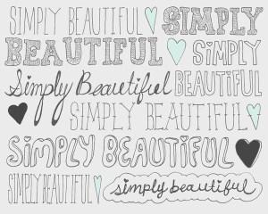 Simply Beautiful