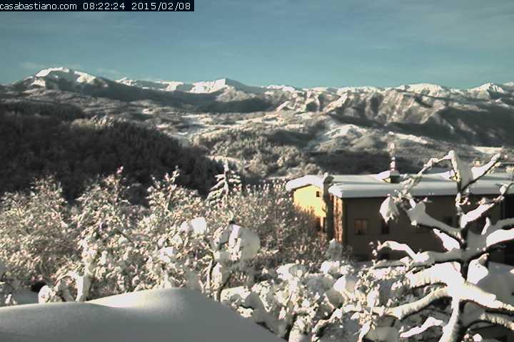 Webcam Casa Bastiano 8 febbraio 2015