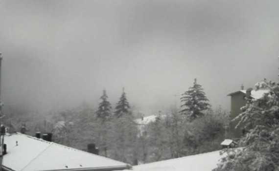 Montese neve 20 novembre 2018