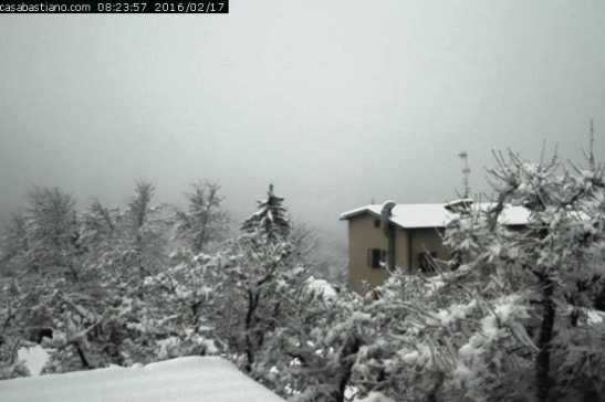 Webcam Montese Casa Bastiano 17/2/16