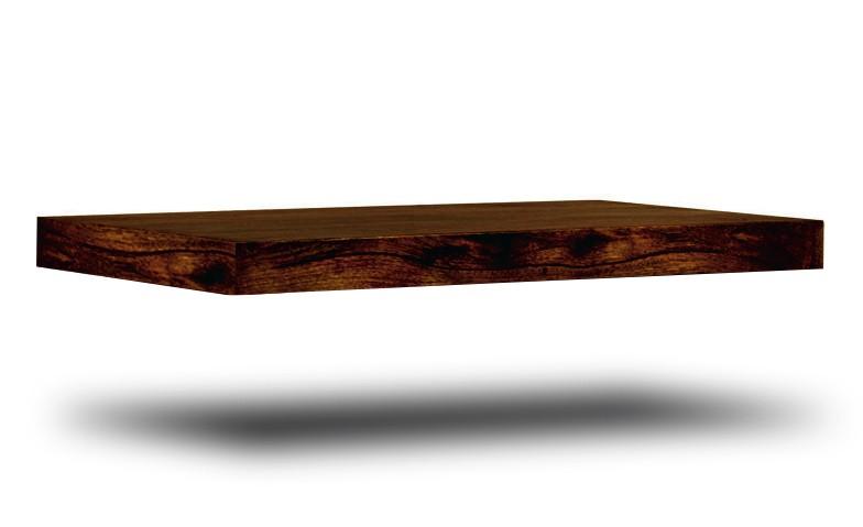 Dakota Dark Mango Floating Shelf Casa Bella Furniture Uk