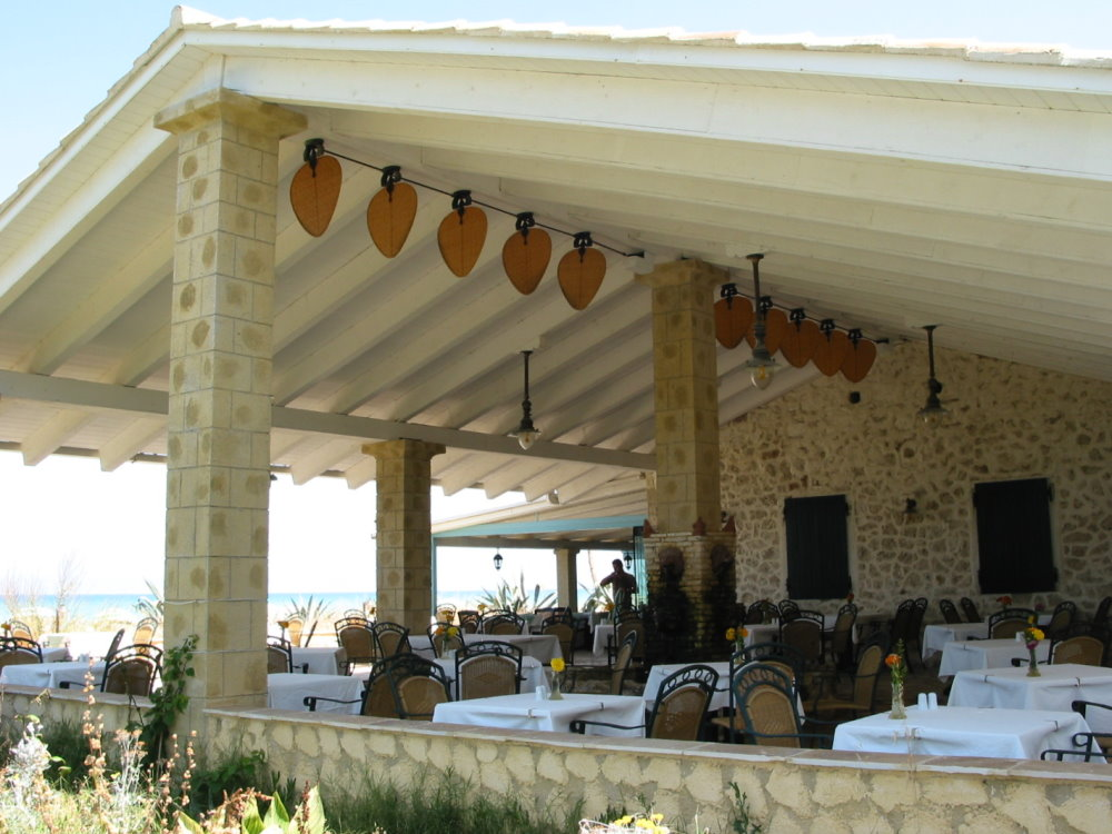 outdoor furniture and ceiling fans in