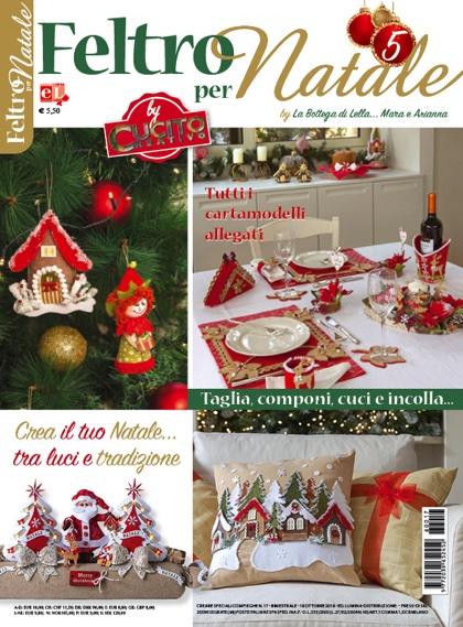 Feltro Per Natale 5 By La Bottega Di Lella Mara E Arianna