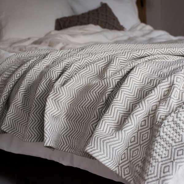 Cotton bedspread Bakuba - Casa Comodo