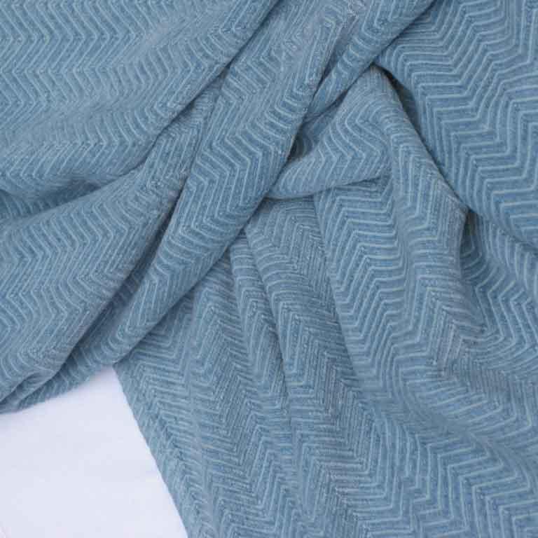 Bedsprei aquablue Sea Mist Blue - Een prachtige blauw sprei voor op je bed - Casa Comodo