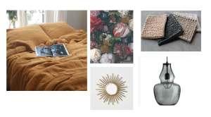 Creëer een hotelkamer gevoel in je slaapkamer met linnen dekbedovertrek Yellow Summer