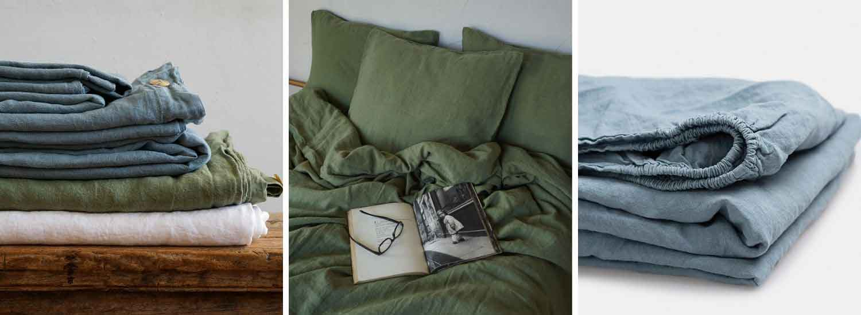 Premium quality linen bedding, best price linen bedding