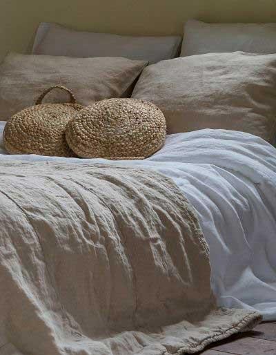Sustainable linen bedspreads – Casa Comodo