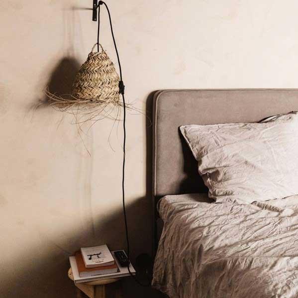 Linnen dekbedovertrek Pearl Grey – Casa Comodo