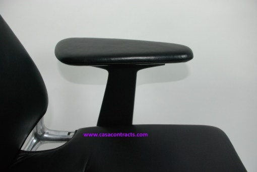 Vitra Meda chair leather adjustable arms 6a