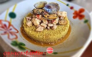 Cous cous di crostacei e molluschi