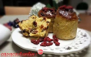 Plumcake monoporzione Goji e Cioccolato