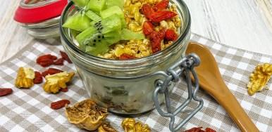 Yogurt Kiwi Muesli e Goji
