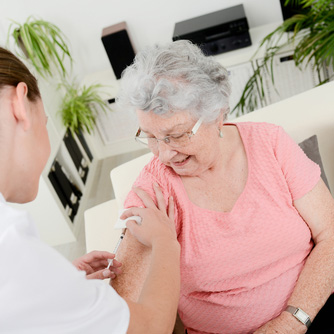 Vacina para terceira idade - Casa Crescer