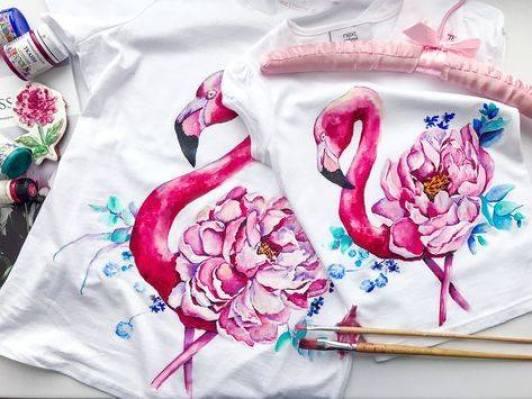 pictura pe textil atelier creativ