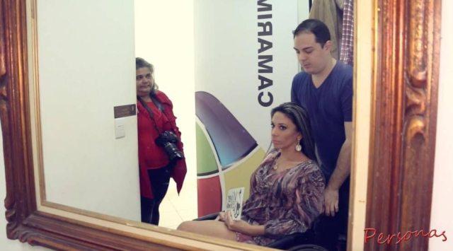 MISS CADEIRANTE - CAMARIM- CASADAPTADA