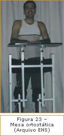 Figura 23 - Mesa ortostática
