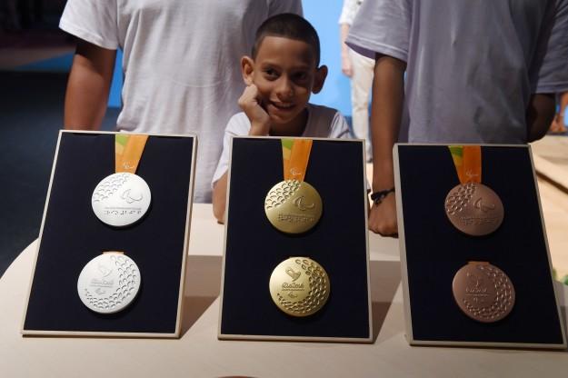 A Paralimpíada vai distribuir mais medalhas que a Olimpíada.