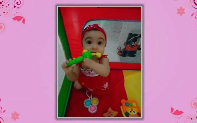 Ana Luísa nasceu sem a mãe esquerda (Foto: Reprodução/TV Bahia)