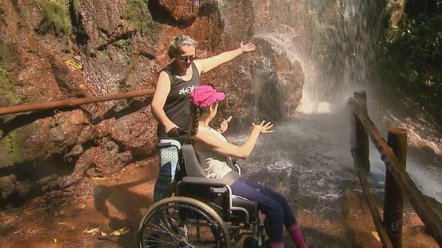 Resultado de imagem para Brotas, SP, oferece passeio para cadeirantes no rafting e em trilhas adaptadas