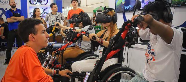 Realidade virtual toma conta da Rehafair