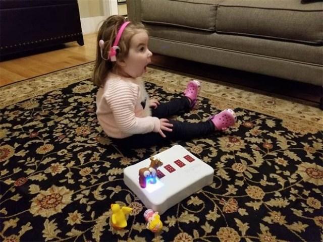 brinquedo braile cegueira (Foto: Reprodução/Memories for Becca)