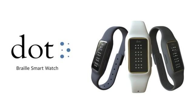 Gadget Dot permite o uso de deficientes visuais (Foto: Divulgação/Dot)