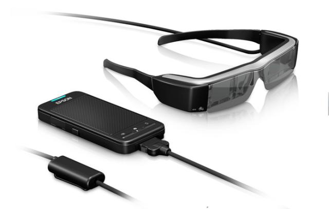 Moverio, da Epson: óculos de realidade aumentada voltado para portadores de necessidades especiais (Foto: Divulgação)