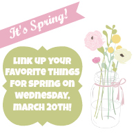 Spring and Things!