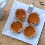 Mini Pumpkin Pie {Bites} for #SundaySupper