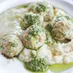 whole 30 chicken + zucchini meatballs [low carb, paleo, lean]