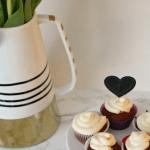 [Gluten Free] Red Velvet Cupcakes for Valentine's Day