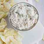 french onion dip with greek yogurt
