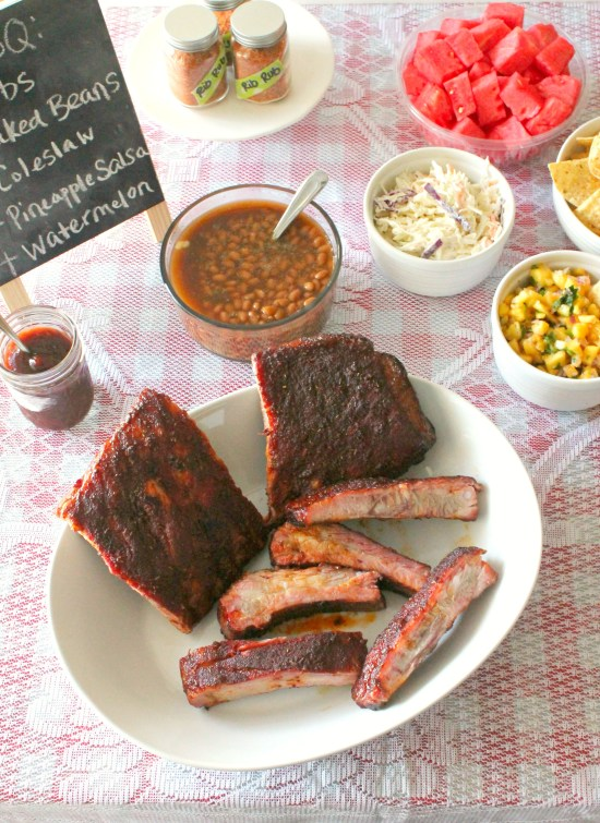 St. Louis Ribs with a Dry Rub Recipe 2