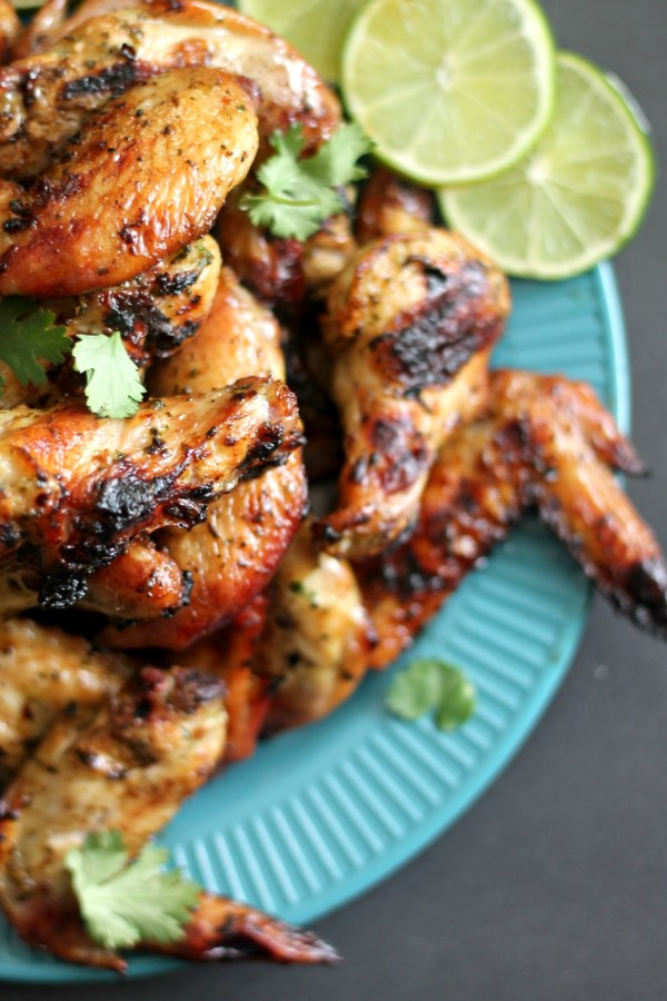 Cilantro-Lime Chicken Wings for #SundaySupper #GalloFamily