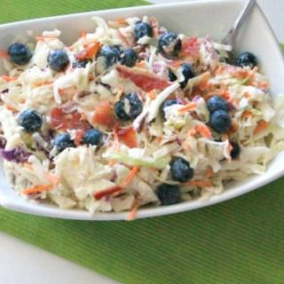 Blueberry Coleslaw