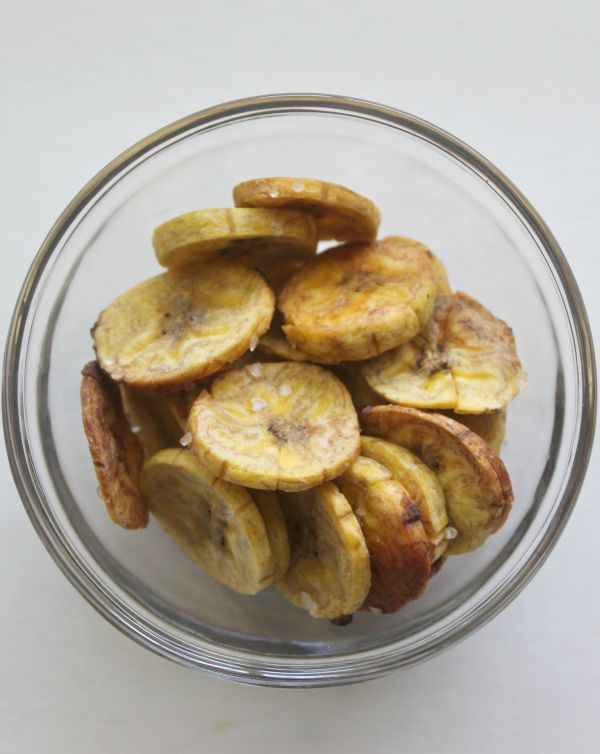 Making homemade plantain chips is insanely easy. You'll never buy a bag from the store again!