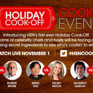 HSN Cooks Holiday Cook Off Event (and a giveaway) #HSNCooks