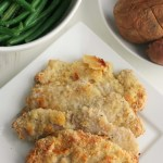 Almond Breaded Pork Chops #SundaySupper