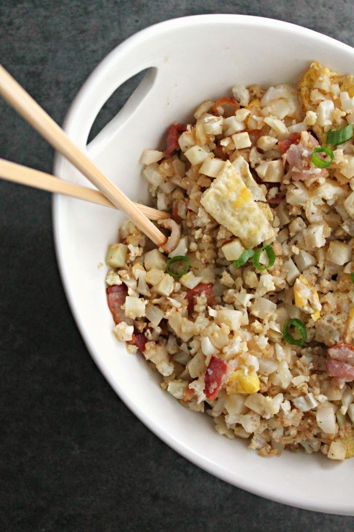 cauliflower fried rice | casadecrews.com
