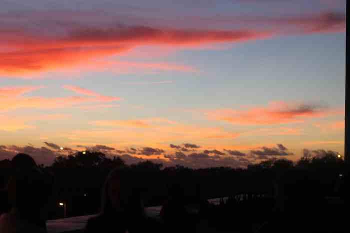 Sunday's sunset