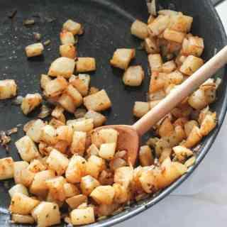 Jicama Home Fries