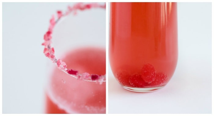 jellybean sparkling martini
