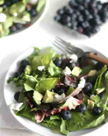 Spring Mix Salad with a Grapefruit Poppy Seed Vinaigrette