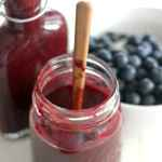 Homemade Blueberry Maple BBQ Sauce