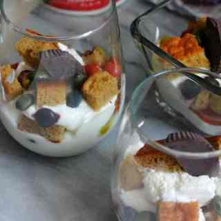 unreal candy parfaits
