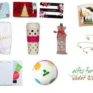 Gift Exchange Ideas – gifts under $25